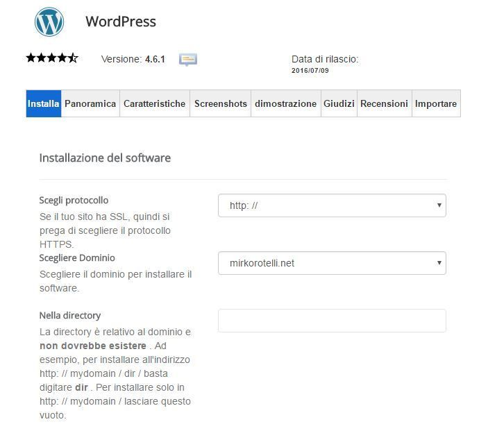 wordpress-panoramica-installa