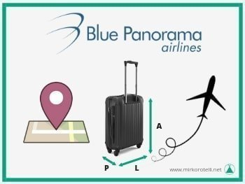 Blue panorama check in