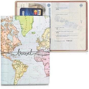 KW mobile custodia passaporto